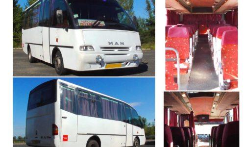 аренда автобуса Полтава MAN