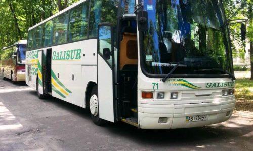 Автобус 55 мест в Полтаве